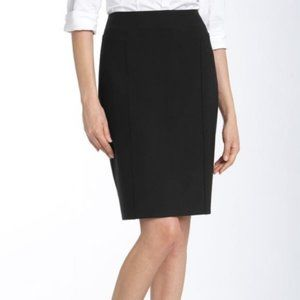 Halogen Black Pencil Skirt Size 14